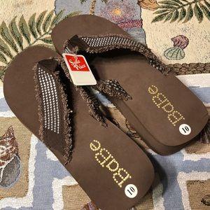 """Brown Bling """"Babe""""Flip  Flop Sandals!!!!"""